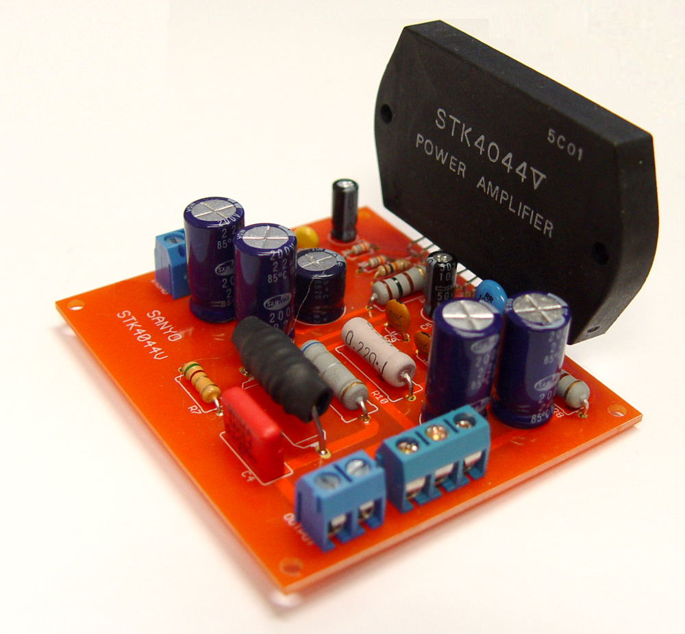 Stk Audio Circuit Input 500 Mv Frequency Response 20 Hz 20khz